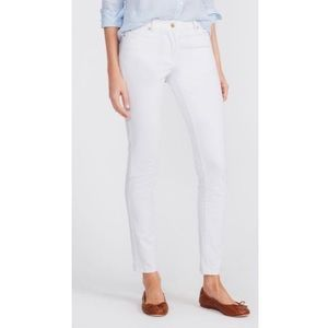J.McLaughlin White Cotton Jeans